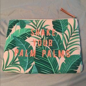 Palm palm pouch